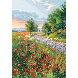 Cross stitch kit - Morning on the way