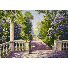 Cross stitch kit - Lilacs