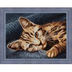 Diamond painting kit - Cat Barsik