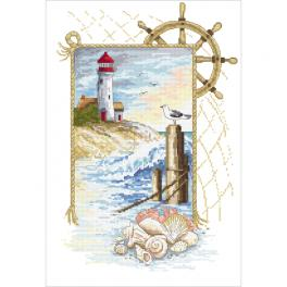 Cross stitch kit - Sea dreams