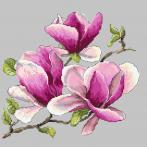 GC 10271 Cross stitch pattern - Fragrant magnolia