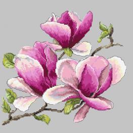 AN 10271 Tapestry aida - Fragrant magnolia