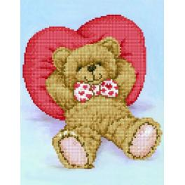 DD6.009 Diamond painting kit - Relax-a-bear