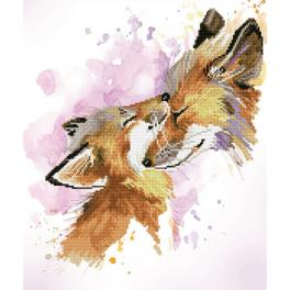 DD8.013 Diamond painting kit - Fox bliss