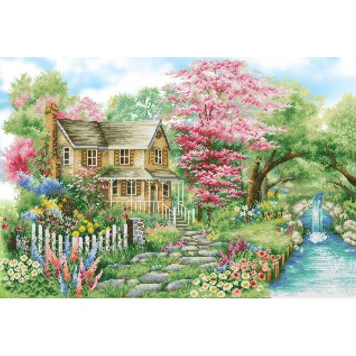 DD15.019 Diamond painting kit - Spring sparkle