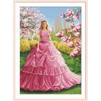 GC 10622 Cross stitch pattern - Magnolia lady