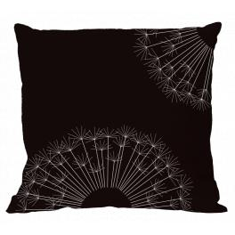W 10616-01 ONLINE pattern pdf - Pillow - Pillow with dandelion II