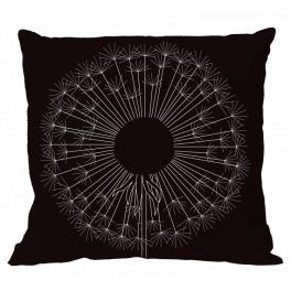 ZU 10615-01 Cross stitch kit - Pillow with dandelion I