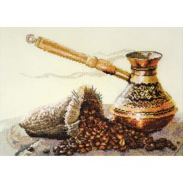 OV 880 Cross stitch kit - Coffee flavour