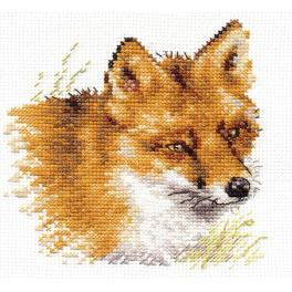 Cross stitch kit - Fox
