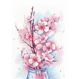 Cross stitch kit - Apple blossom