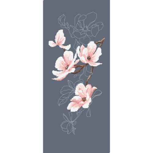 GC 10424 Cross stitch pattern - Magnolia twig