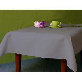 972-11 Tablecloth Aida 110x160 cm (1,2x1,7 yd) graphite