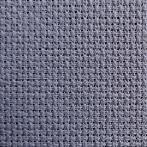 975-11 Napkin Aida 45x45 cm (1,5x1,5 ft) graphite