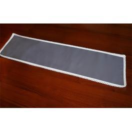 981-11 Napkin Aida 37x21 cm graphite