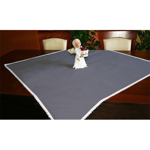 Tablecloth Aida 90x90 cm graphite