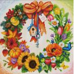 Diamond painting kit - Wreath