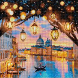 Diamond painting kit - Evening Venice