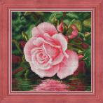 Diamond painting kit - Rose by the water