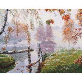 Cross stitch kit - The breath of autumn
