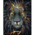 M AZ-1745 Diamond painting kit - Lava lion