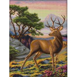 Diamond painting kit - Noble deer