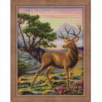 M AZ-1692 Diamond painting kit - Noble deer