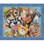 Diamond painting kit - Animal selfie