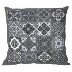 ONLINE pattern pdf - Pillow - Gray tiles