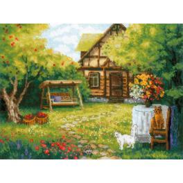 Kit with yarn - Country house
