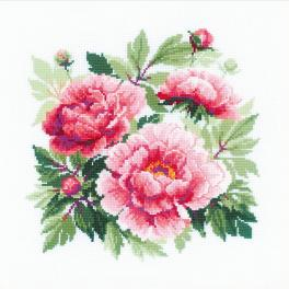 Kit with yarn - Tree peony