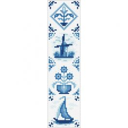 ZU 10627 Cross stitch kit - Ethnic bookmark II