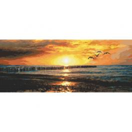 K 10282 Tapestry canvas - Longing for the sea