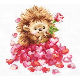 Cross stitch kit - In love