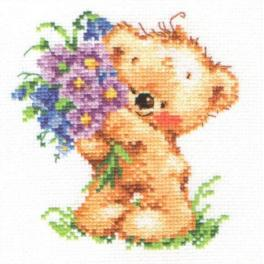 Cross stitch kit - Congratulations!