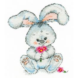 OV 989 Cross stitch kit - Rabbit