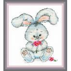 OV 989 Cross stitch kit - Rabbit