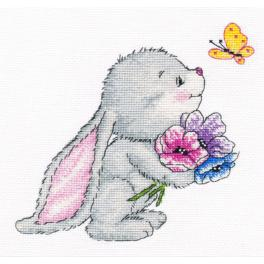 OV 980 Cross stitch kit - Bunny