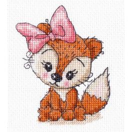 Cross stitch kit - Little fox