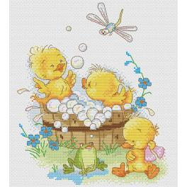 Cross stitch kit - Warm weather