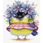 MP M-299 Cross stitch kit - Romantic bird