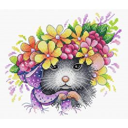 Cross stitch kit - Field fashionista
