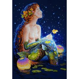 MER K-17 Cross stitch kit - Stars