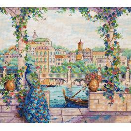 Cross stitch kit - Palace Pier