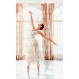 LETI 906 Cross stitch kit - Ballerina II