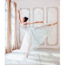 LETI 901 Cross stitch kit - Ballerina I