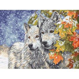 Cross stitch kit - Early snowfall