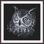 Z 10636 Cross stitch kit - Gray owl