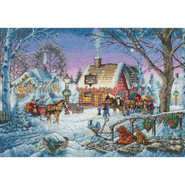 DIM 8816 Cross stitch kit - Sweet memories