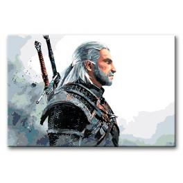 Painting by numbers kit - Witcher